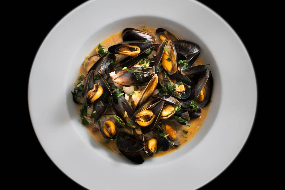 'Since our trip to Belgo Centraal in Seven Dials, it only seems right that Dad should teach us how to make Moules Marinière.'