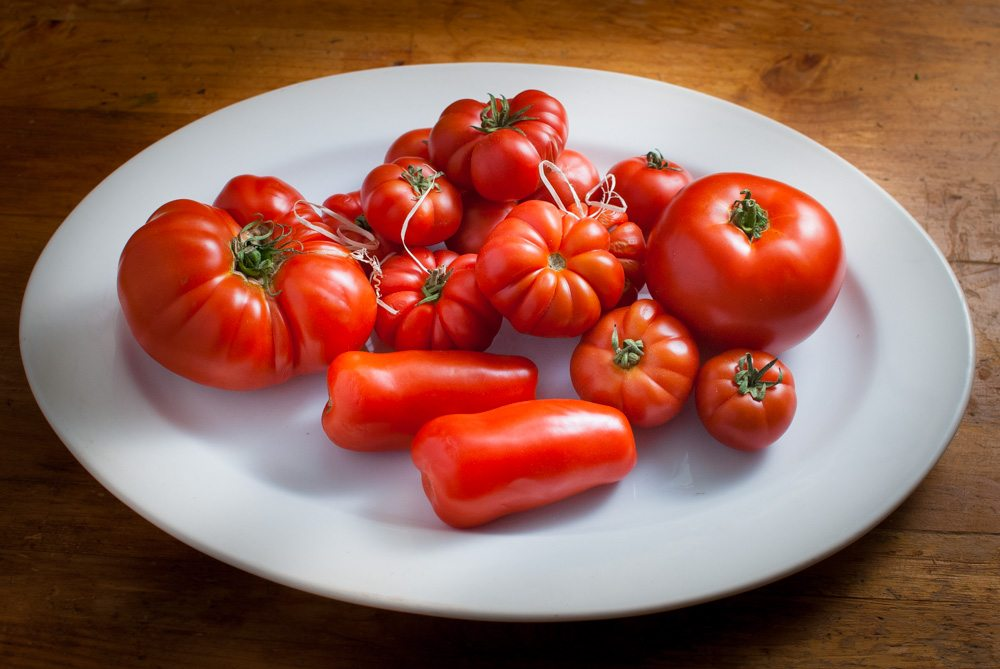 I asked for the most flavoursome tomatoes and was directed to the Italian 'winter' tomatoes...