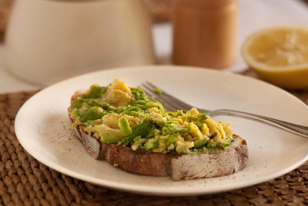 'This is my favourite breakfast of all time. So simple and utterly delicious, I eat this once a week. If you like avocado and haven't done this yet...'