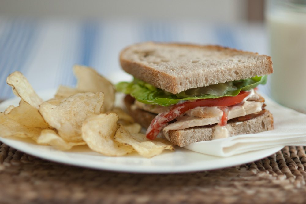 'What, a sandwich on a cooking website? Well there's a science behind it, and...'