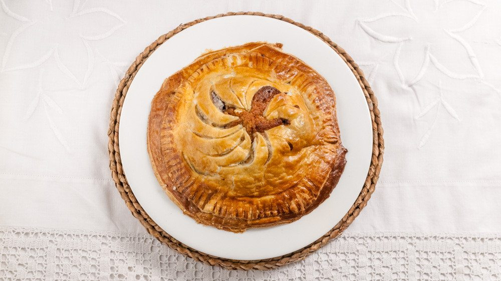 'Dad text me saying he'd made Pithiviers, and I was thinking