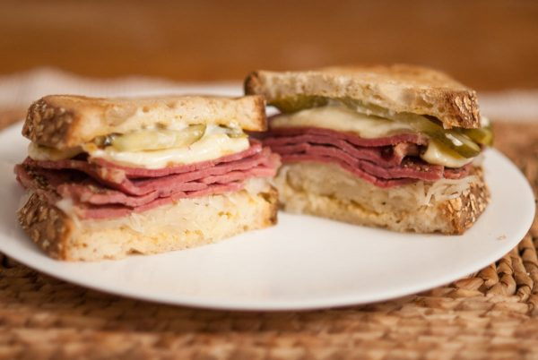 'Dad's American influence…this is a classic sandwich which deserves respect…'