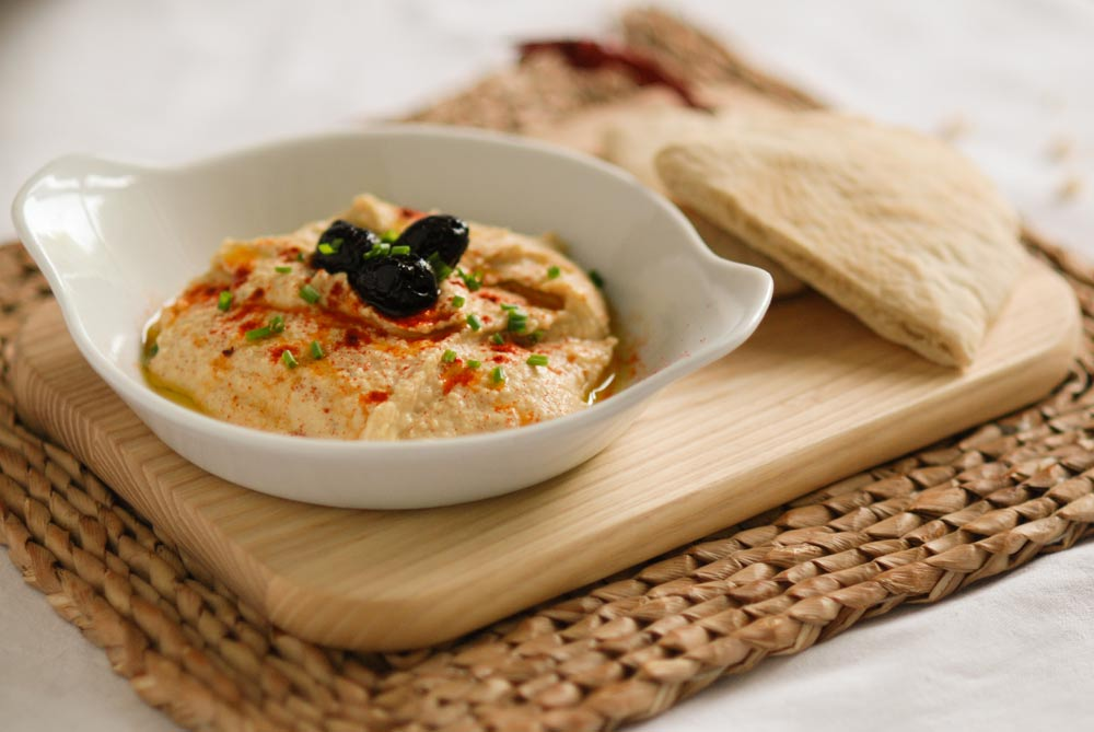 'There's shop-bought houmous and there's houmous that actually tastes like houmous... If you haven't made your own this is a great way to taste the difference. Perfect for entertaining or...'