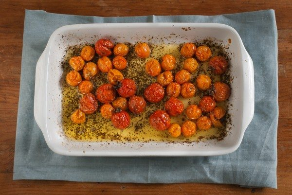 Roasting tomatoes is a useful technique for adding sweetness and depth of flavour to tomatoes.