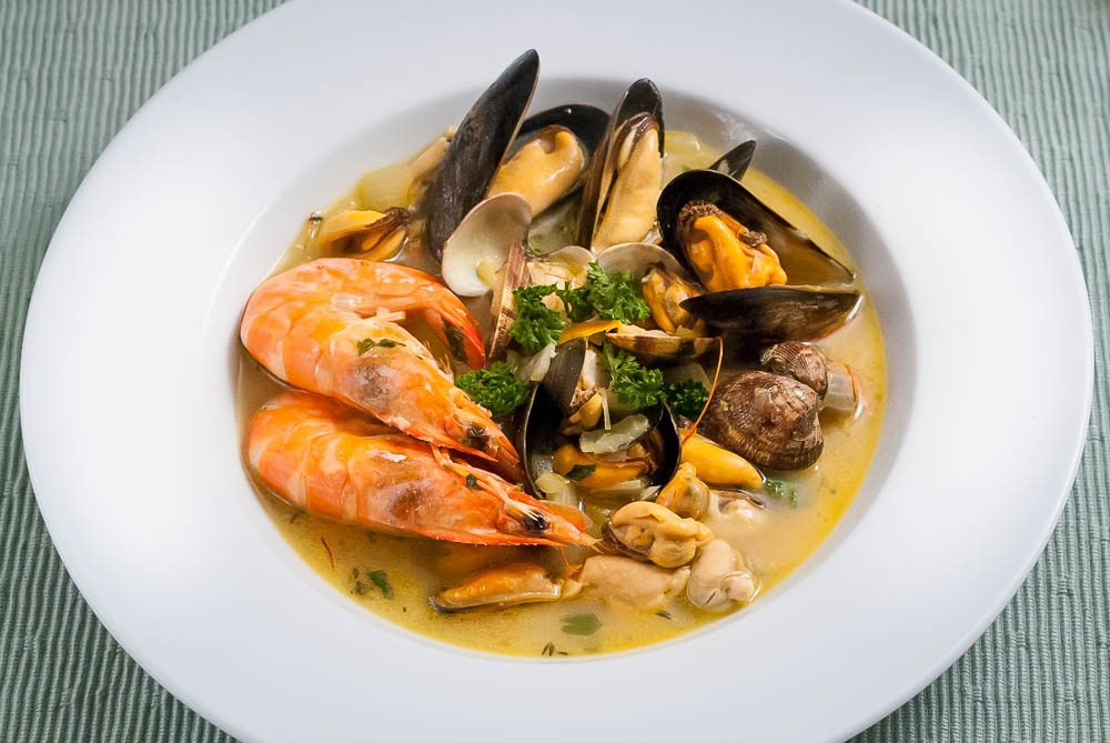 'Oh, now this is the taste of Tuscany. A dish that made me fall in love with mussels and shell fish.'