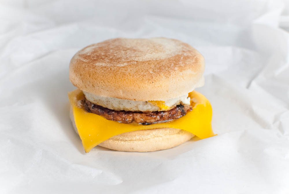 Breakfast in a bun. The WDC McMuffin is the perfect breakfast treat to satisfy your morning requirements. Let's be honest, it's the perfect hangover cure!