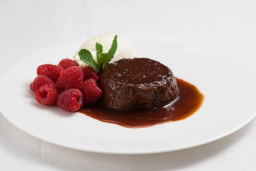 'A beautiful chocolate flan from Dad inspired by the flavours of Mexico.'
