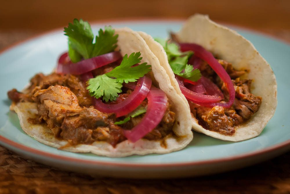 'Always intrigued by food I see in films! Can you guess which film Dad's cochinita pibil recipe is from...?'