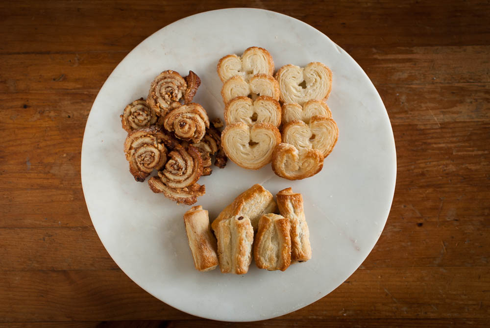 'I never knew the 9th December was National Pastry Day! So I informed Dad... and this is what he conjured up!'