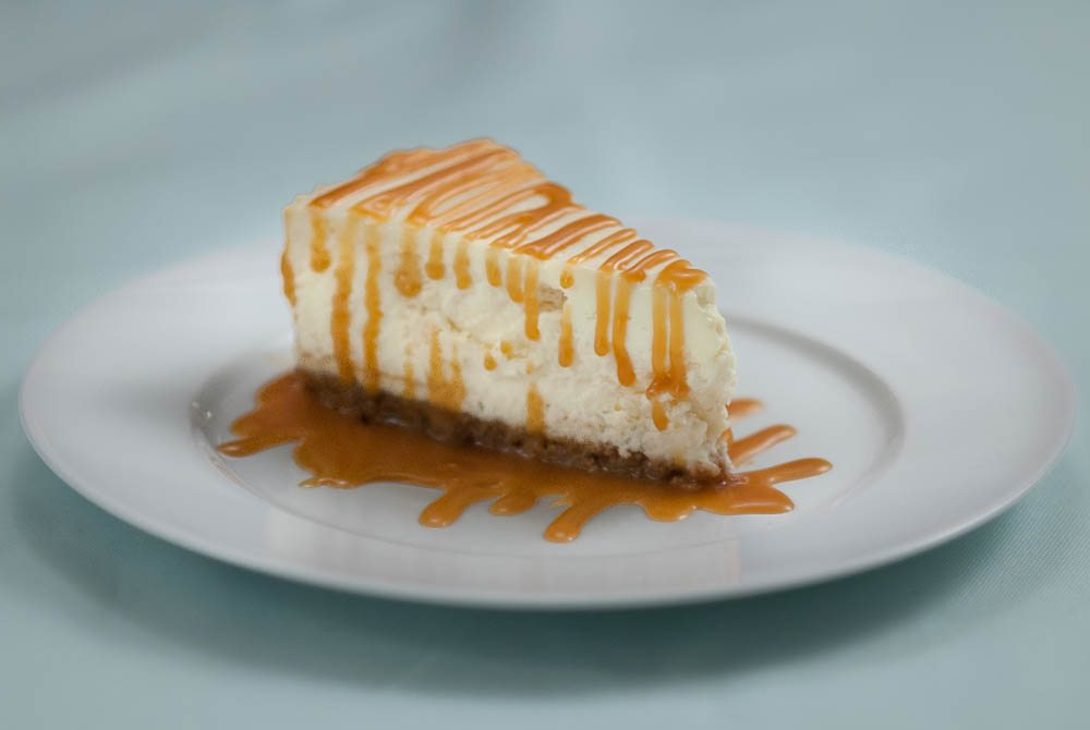 'The best Caramel Cheesecake you will ever make. Trust us, it's worth it!'