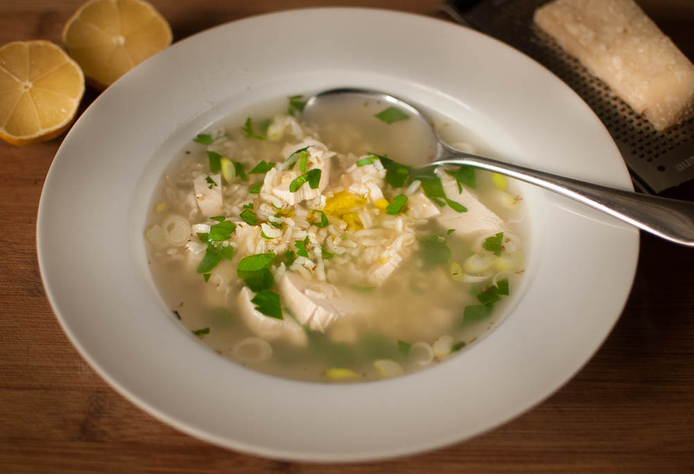 Homemade Chicken Soup in 5 Minutes