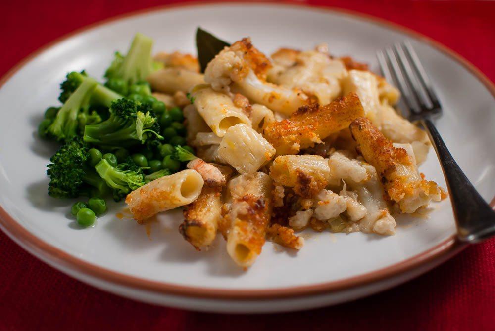 'Oh! Love cauliflower cheese. But this is an Italian cauliflower cheese...