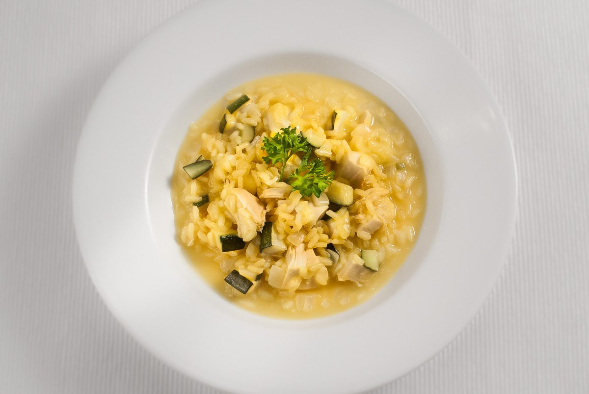 'Wow, this is probably my favourite dishes ever! Creamy, yummy risotto.