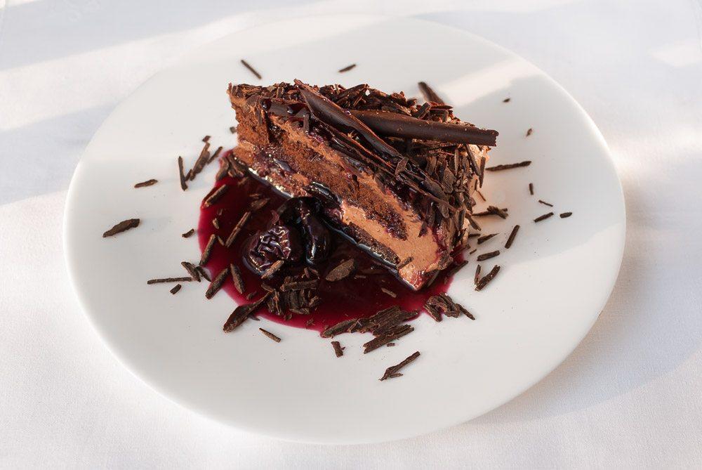 Miraculous Leos Chocolate Mousse And Cherry Birthday Cake Birthday Cards Printable Giouspongecafe Filternl