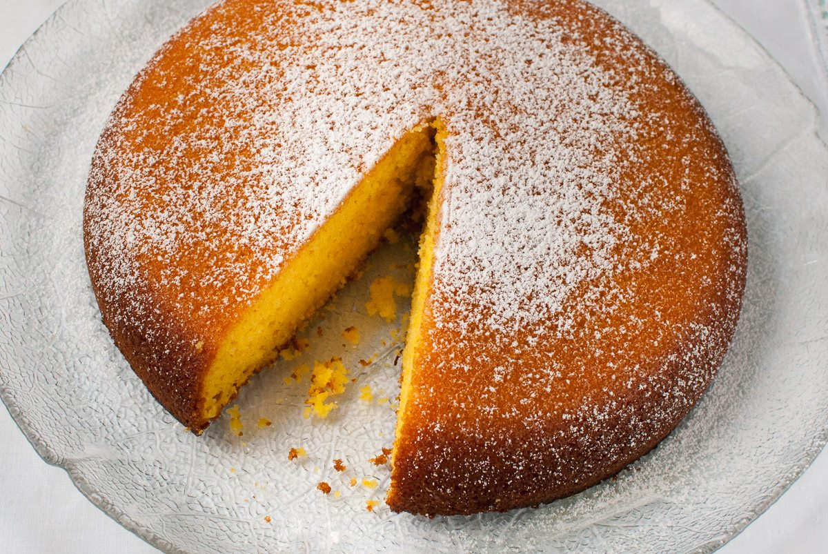 'After Dad's little chat with Diana in the Le Creuset store on New Cavendish Street, he was inspired by her recipe cards and made his own version of a Latin American breakfast cake.'