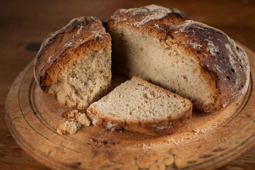 When the bread bin is empty replenish with this amazing soda bread