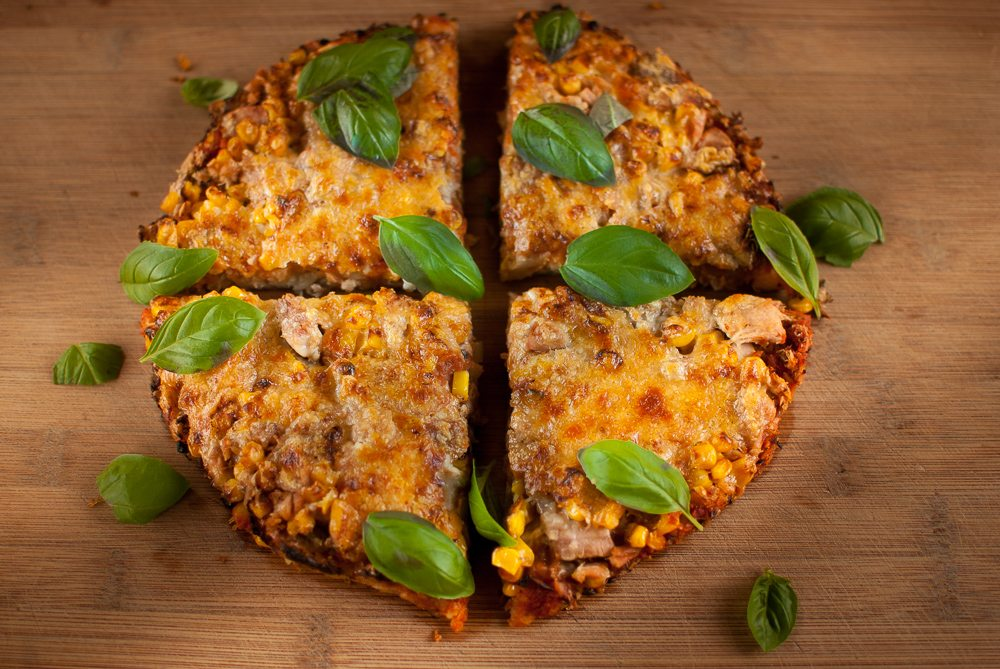 Here's a cool recipe for lovers of tuna fish and sweetcorn - and pizzas. A great family recipe. It's a pizza but made with potatoes!