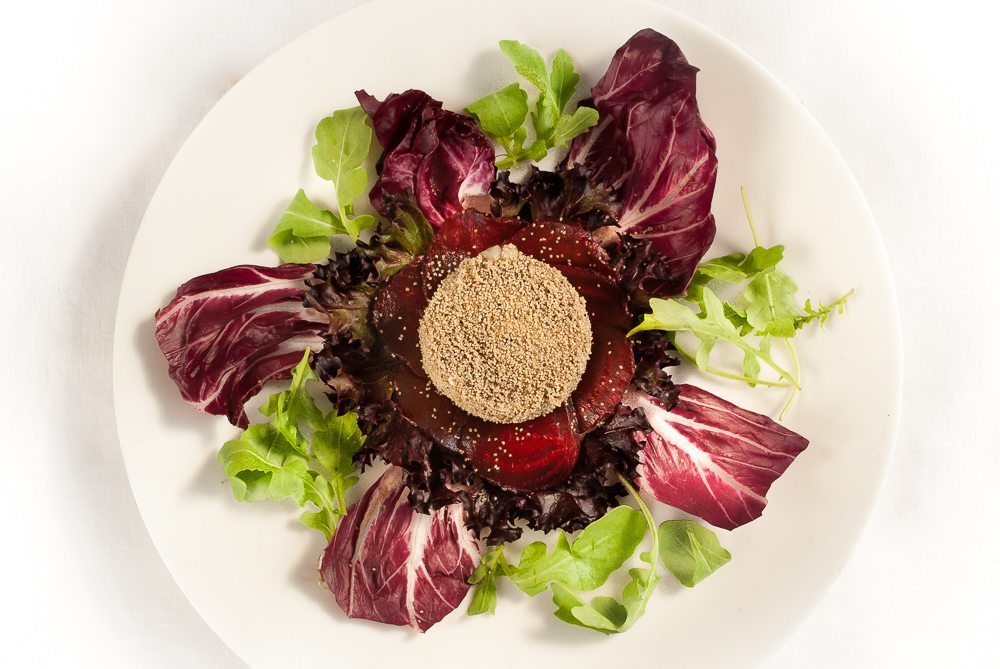 This is inspired by a recipe in the book, 'Salad' by Amy Nathan (1985).