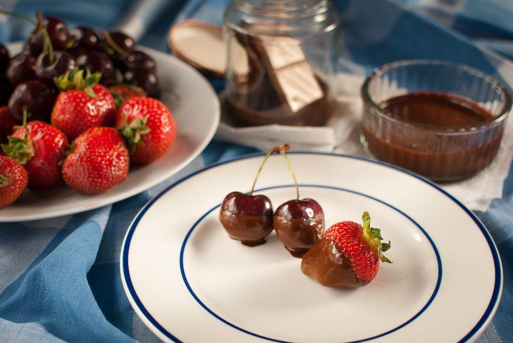 Picnic Chocolate Fondue