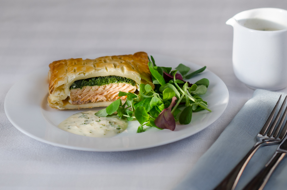 Salmon en croute are brilliant - part pie, part pastie, part Salmon Wellington - what's not to like?