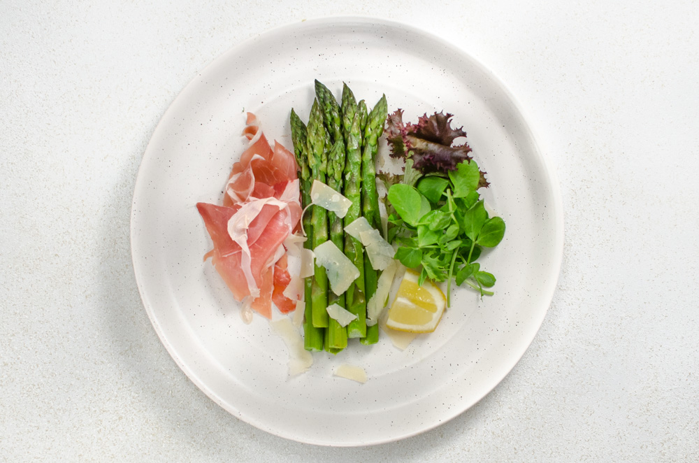 Asparagus and Parma ham